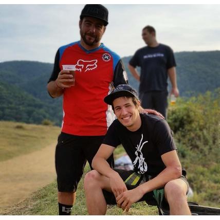Colab Team Riders Matt and Kody