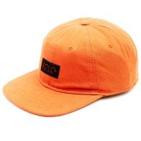 Isle Skateboards - 6 Panel Texas Orange Hat