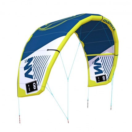 Liquid Force NV V9 Kitesurfing Kite in Dark Blue