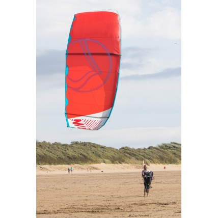 Liquid Force NV V9 Kitesurfing Kite in use
