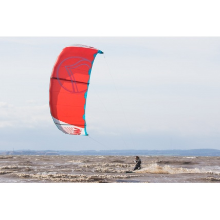 Liquid Force NV V9 Kitesurfing Kite in use Harry riding