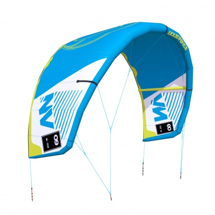 Liquid Force NV V9 Kitesurfing Kite in Light blue