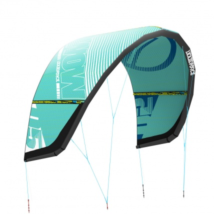 Liquid Force Wow V3 Kitesurfing Wave Kite in Teal