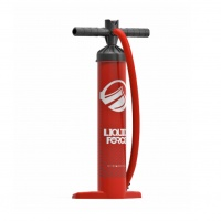 Liquid Force - 3L Tall Kitesurfing Kite Pump Red