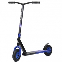 Ascent Dirt Scooters - Colour Fade Blue Black Dirt Scooter