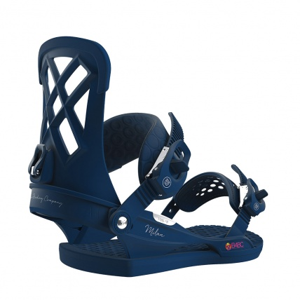 Union Milan Womans 2019 Snowboard Binding in Blue