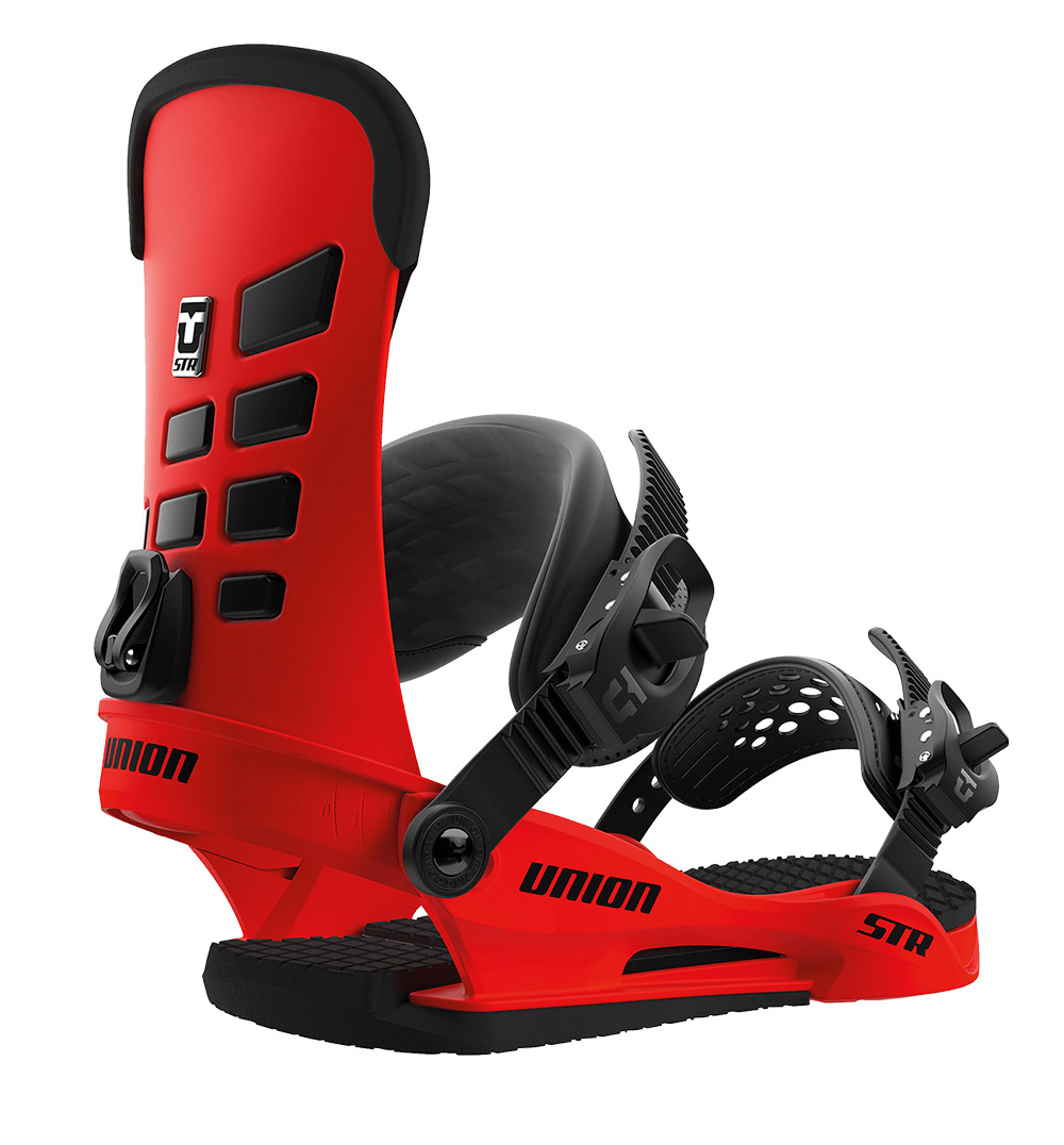 Union STR 2019 Mens Snowboard Binding In Red