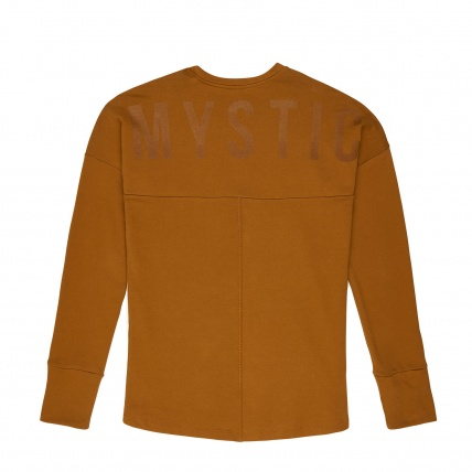 Mystic Miller Sweatshirt in Golden Brown back