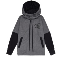 Mystic - Womens Malone Sweatshirt Hoody in Grey