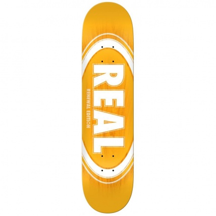 Real PP Deck Oval Remix Renewal Skate Deck 7.75in