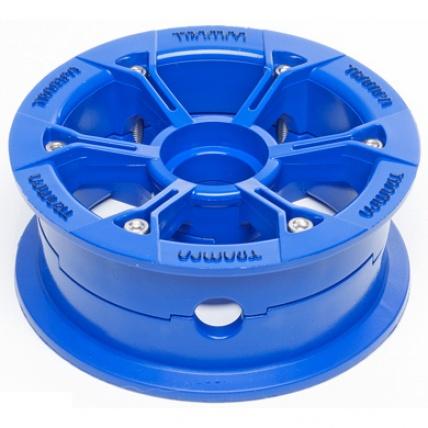 Trampa Hypa mountain board Hub in Blue for 6 7 8 inch tyre
