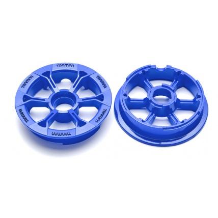 Trampa mountain board Hypa Hub in Blue for 6 7 8 inch tyre