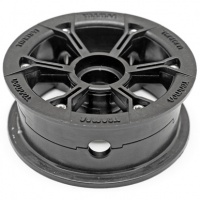 Trampa - Mountainboard HYPA Hub Matt Black (Each)
