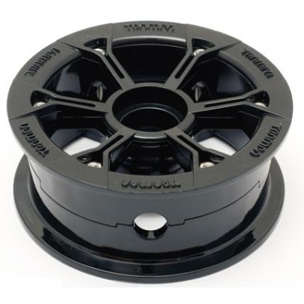 Trampa Gloss Black Hypa Hubs Mountain board wheel hub 10cm diameter
