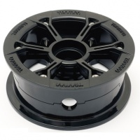 Trampa - Mountainboard HYPA Hub Gloss Black (Each)