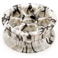 Trampa - Mountainboard HYPA Hub Winter Camo (Each)