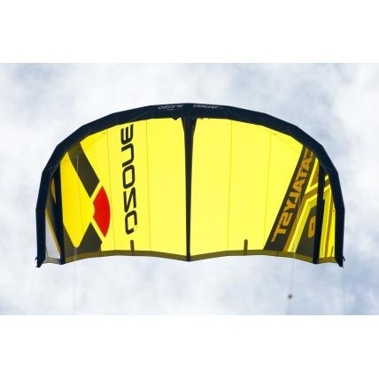 Ozone Catalyst V2 Kitesurfing Kite shape yellow