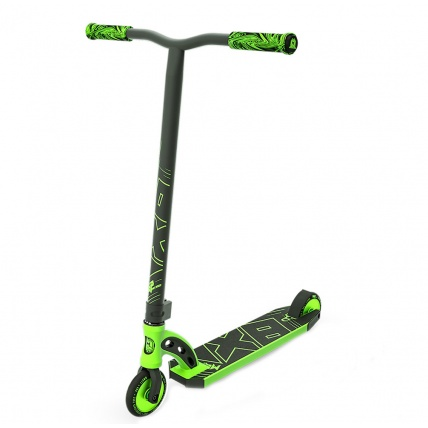 MGP VX8 Pro Complete Scooter in Lime Green Front