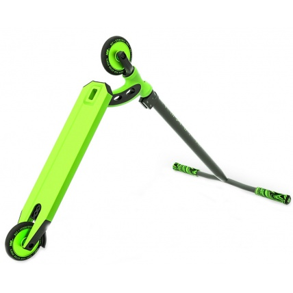 MGP VX8 Pro Complete Scooter in Lime Green Rear