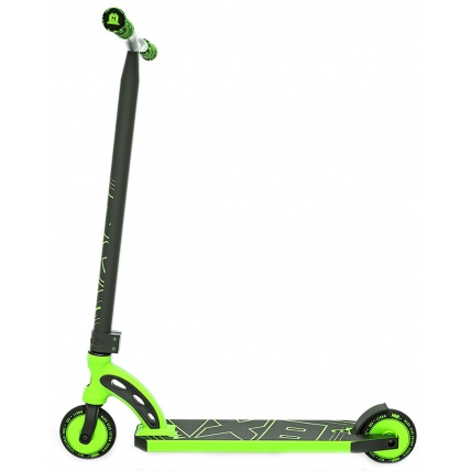 MGP VX8 Pro Complete Scooter in Lime Green Side