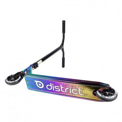 District C050 Complete Pro Scooter in Colour Chrome Base