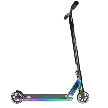District C050 Complete Pro Scooter in Colour Chrome Side View