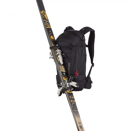 Dakine Poacher 14L Heli Pack Snowboard Backpack diagonal ski carry straps