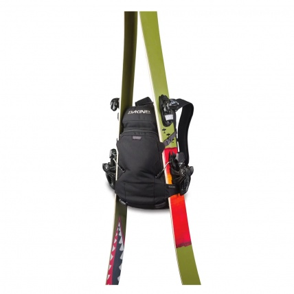 Dakine Heli Pro 20L Snowboard/ Ski Backpack in Field Camo diagonal ski carry straps