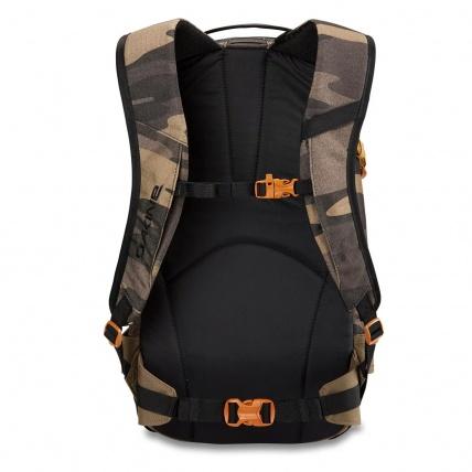 Dakine Heli Pro 20L Snowboard/ Ski Backpack in Field Camo back waist belt