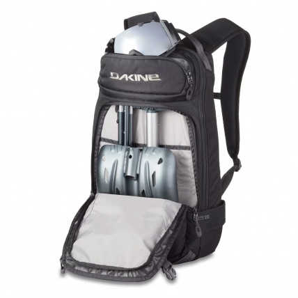 Dakine Heli Pro 20L Snow Backpack in Black organiser pockets