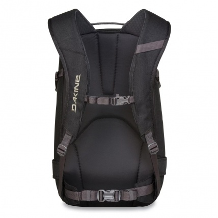 Dakine Heli Pro 20L Snow Backpack in Black back straps and waist belt
