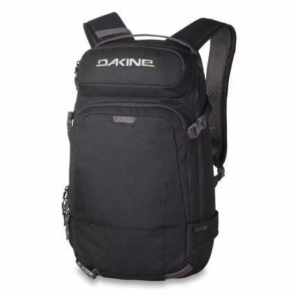 Dakine Heli Pro 20L Snow Backpack in Black front