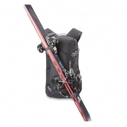 Dakine Heli Pack 12L Field Backpack in Field Camo diagonal ski carry