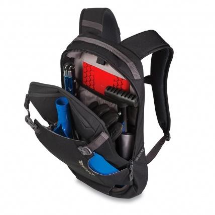Dakine Heli Pack 12L Field Backpack in Field Camo inside pockets