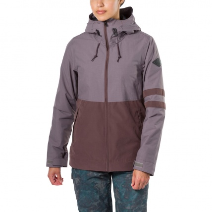 Dakine Juniper Shark Amethyst Womens Snowboard Jacket on model