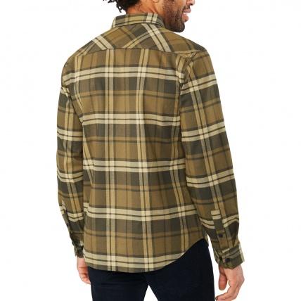 Dakine Reid Tarmac Tech Flannel Mens Shirt model back