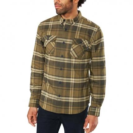 Dakine Reid Tarmac Tech Flannel Mens Shirt model front