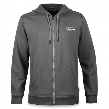 Dakine Cove Asphalt Mens Lightweight Full Zip Hoodie