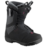 Salomon - Pearl Black Womens Snowboard Boots