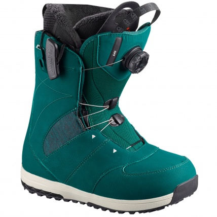 Salomon Ivy BOA SJ Deep Teal Womens Snowboard Boots