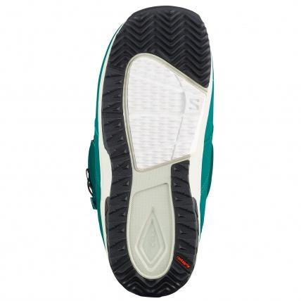 Salomon Ivy BOA SJ Deep Teal Womens Snowboard Boots Sole