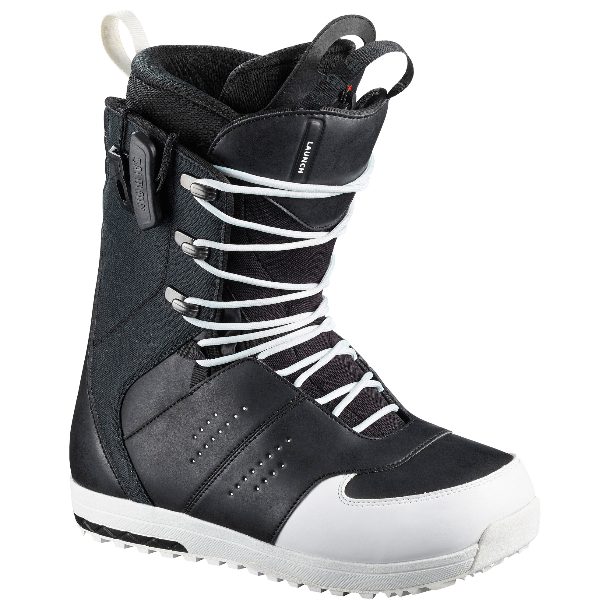 Salomon Launch Lace SJ Black Mens Snowboard Boots