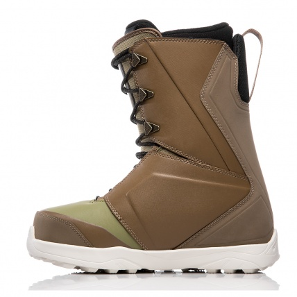 Thirty Two Lashed Bradshaw Brown Green Snowboard Boots left