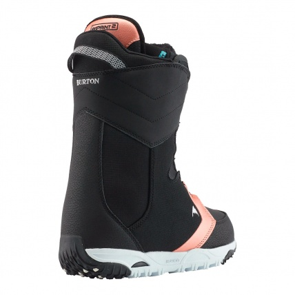 Burton Limelight Boa Black Womens Snowboard Boots Back