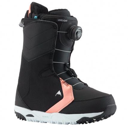 Burton Limelight Boa Black Womens Snowboard Boots