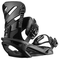 Salomon - Rhythm Black Snowboard Bindings