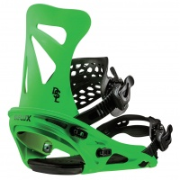 Flux - DSL Neon Green Mens Snowboard Bindings