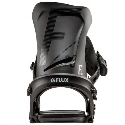 Flux DS Black Mens Snowboard Bindings back
