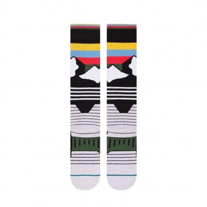 Stance Wind Range Mens Park Snowboard Socks Rear