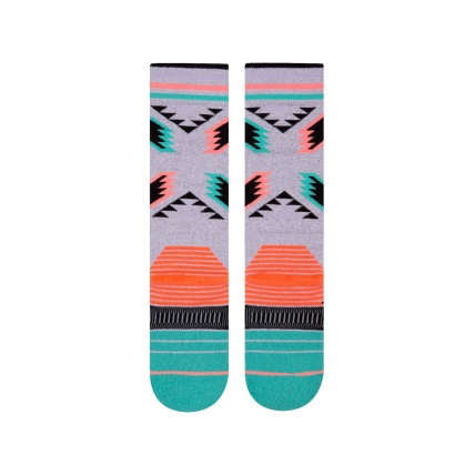Stance Chickadee Womens All Mountain Snow Socks Rear